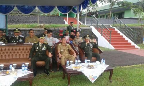 UPACARA HUT TNI DI BATALYON POLISI MILITER AD